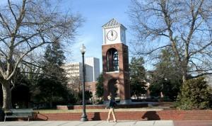 Vaac Bell Tower at Students Anniversary Plaza