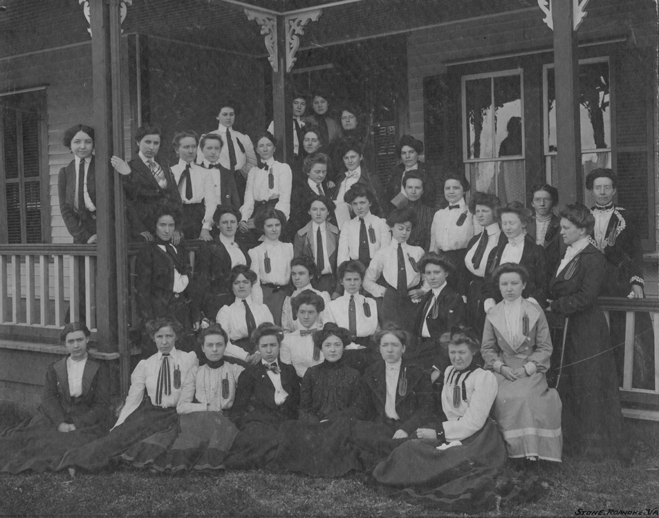 Commercial Department shorthand class, 1902