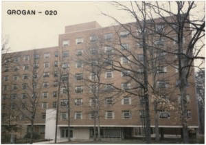 Grogan Residence Hall, 1986