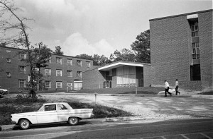 Phillips-Hawkins Residence Hall, 1968