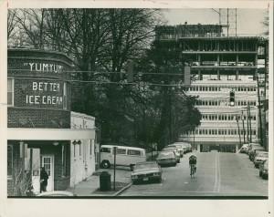 Yum Yum at its original site, 1973