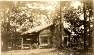 The cabin at Camp Ahutforfun