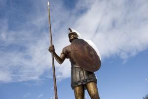 Spartan Statue
