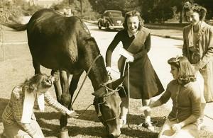 Alethehian Literary Society initiation, 1940