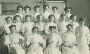 Campus Y.W.C.A. group, 1908-1909