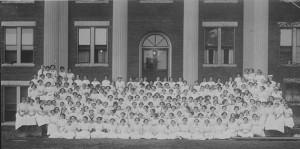 The Cornelian Literary Society membership, 1913
