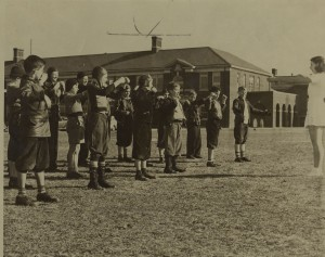 Students at the Curry School in the 1940s