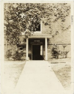 Junior Shoppe entrance, 1936