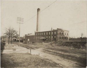 The laundry facility on Walker Avenue, 1906