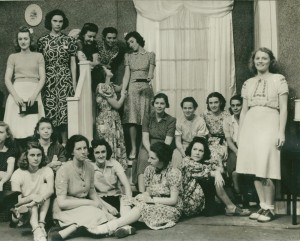 Playlikers group photo, 1938-1939