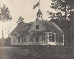 New No. 2 Williamsburg schoolhouse (Rockingham County, NC), 1906