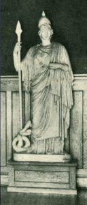 Class of 1907 Minerva Statue